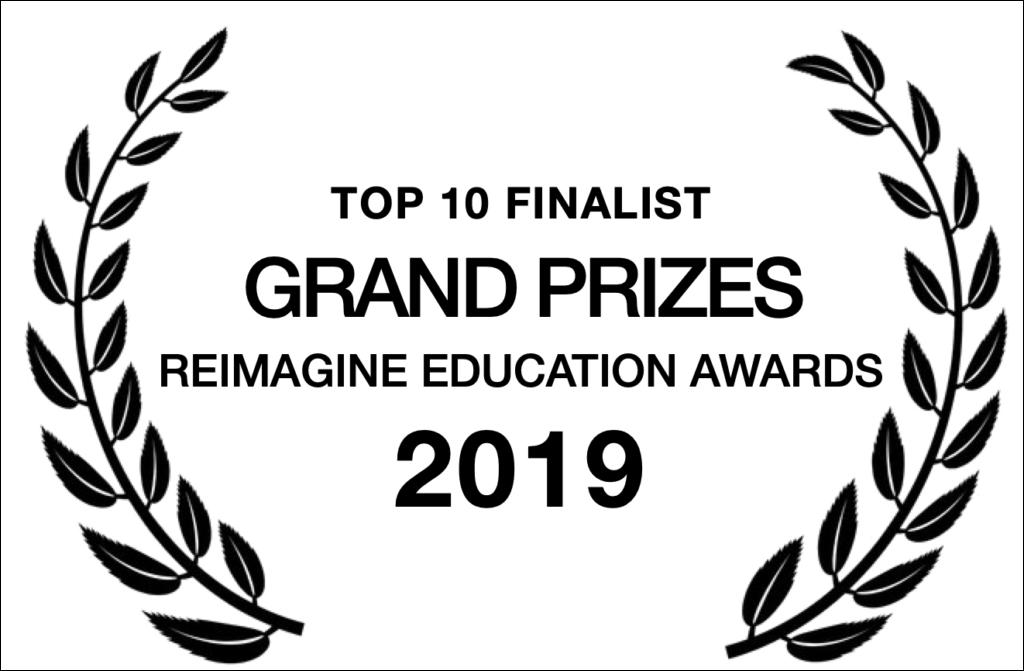 Top 10 Finalist, Reimagine Education 2019